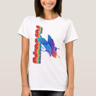 T-shirt Chemise de papillon de bauhaus de l'Arkansas