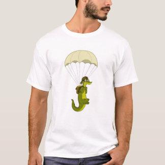 T-shirt Chemise de parachutage d'alligator