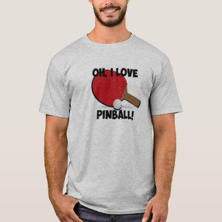 T-shirt Chemise de parodie de flipper de magicien de
