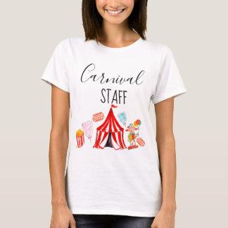 T-shirt Chemise de partie d'enfant de personnel de