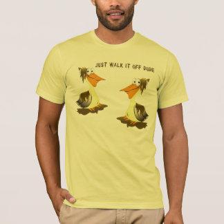 T-shirt Chemise de pélican de flaque d'huile