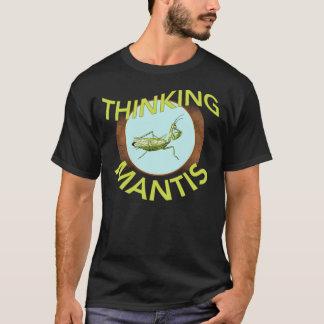T-shirt Chemise de pensée de mante