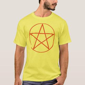 T-shirt Chemise de pentagone étoilé