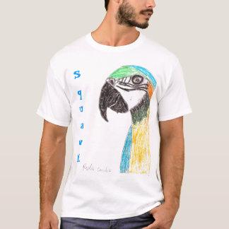 T-shirt chemise de perroquet de bruit