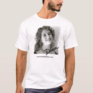 T-shirt Chemise de photo d'aube