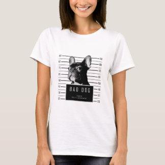 T-shirt Chemise de photo de bouledogue français
