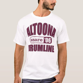 T-shirt Chemise de piège d'Altoona Drumline