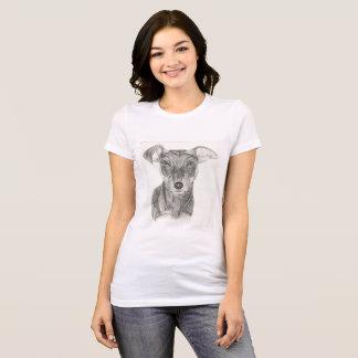 T-shirt Chemise de Pinscher miniature