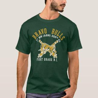 T-shirt Chemise de pinte de taureaux de bravo