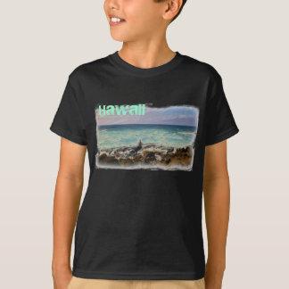 T-shirt Chemise de plage d'Hawaï de garçons