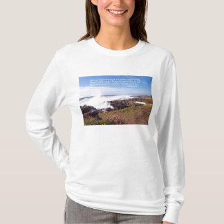 T-shirt Chemise de plage d'océan de psaume