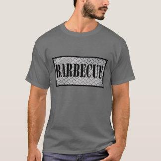 T-shirt Chemise de plat de diamant de barbecue