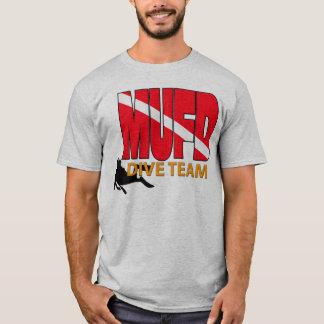 T-shirt Chemise de plongeur autonome d'équipe de piqué de
