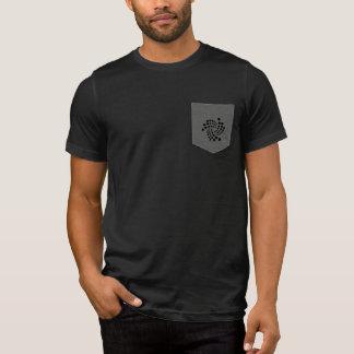 T-shirt Chemise de poche d'embrouillement d'iota