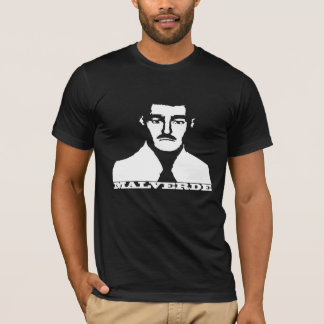 T-shirt Chemise de pochoir de Jésus Malverde