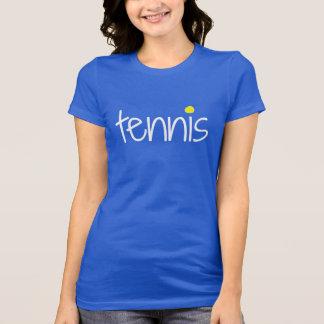 T-shirt Chemise de point de balle de tennis