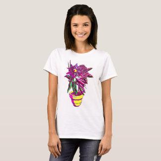 T-shirt Chemise de pot de fleur