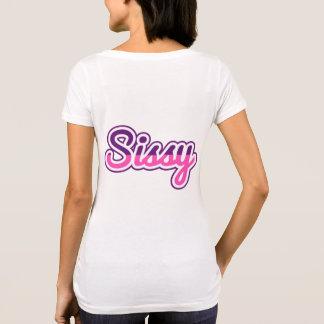 T-shirt Chemise de poule mouillée