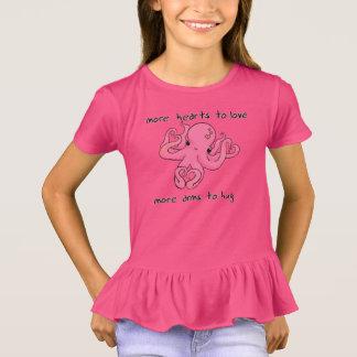 T-shirt Chemise de poulpe de Saint-Valentin