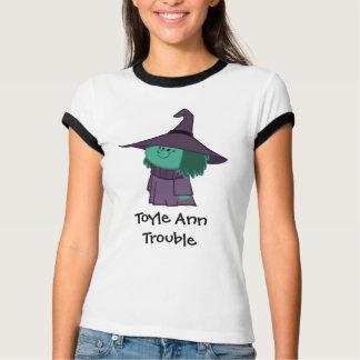 T-shirt Chemise de problème de Toyle Ann