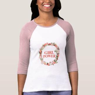 T-shirt Chemise de puissance de fille