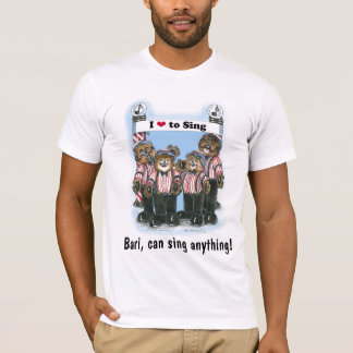 T-shirt Chemise de quartet de raseur-coiffeur - Bari