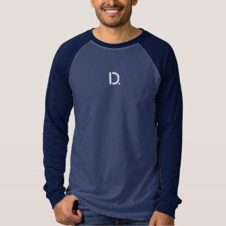 T-shirt Chemise de raglan de douille de la toile des
