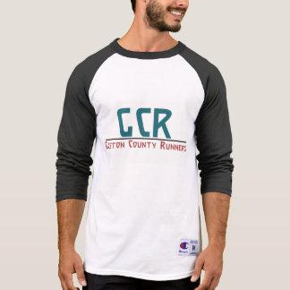 T-shirt Chemise de raglan de la douille des hommes de GCR