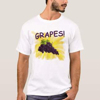 T-shirt Chemise de raisins