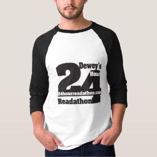 T-shirt Chemise de Readathon des hommes