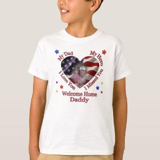 T-shirt Chemise de retours au pays du papa de Mary