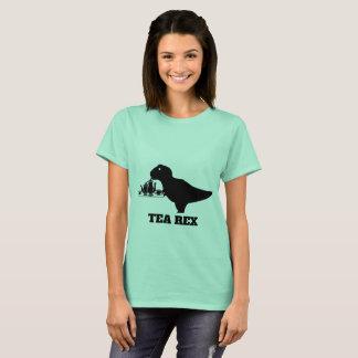 T-shirt Chemise de Rex de thé - thé T-Rex