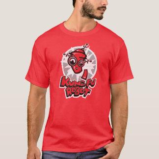 T-shirt Chemise de robot de Kung Fu
