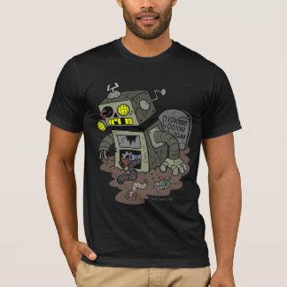 T-shirt Chemise de robot de zombi