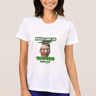 T-shirt Chemise de Ross de courbure de dames Brazo