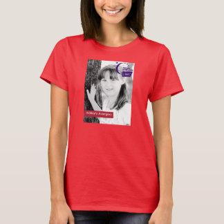 T-shirt Chemise de rouge des vengeurs d'Ashley