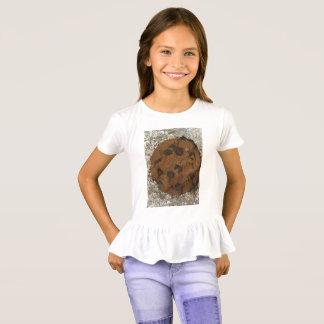 T-shirt Chemise de ruche de gâteau aux pépites de chocolat