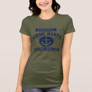 T-shirt Chemise de Sailing Quallage d'amiral Liebe Hart's