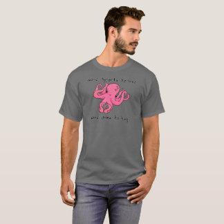 T-shirt Chemise de Saint-Valentin de poulpe