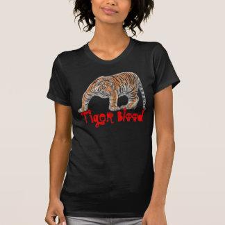 T-shirt Chemise de sang de tigre