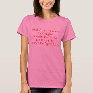 T-shirt Chemise de sapeur-pompier