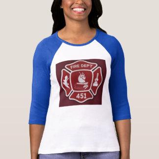 T-shirt Chemise de sapeur-pompier de Montag de type
