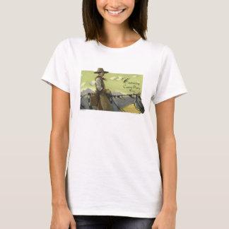 T-shirt Chemise de semaine de poésie de cowboy
