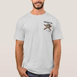 T-shirt chemise de série de signature