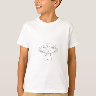 T-shirt Chemise de singe