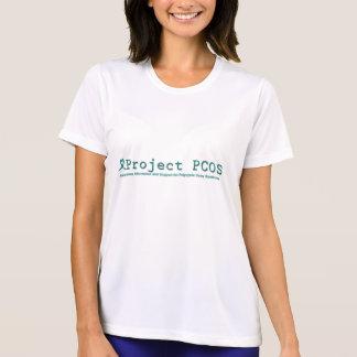T-shirt Chemise de site Web du projet PCOS