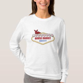 T-shirt Chemise de société de lapin de Chambre de Las