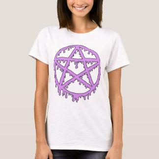 T-shirt Chemise de sorcière de boue - lavande