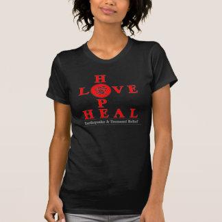 T-shirt Chemise de soulagement du Japon - l'espoir d'amour