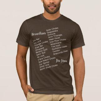 T-shirt Chemise de soumission de BJJ